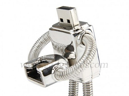 Removable head Robot USB flash drive