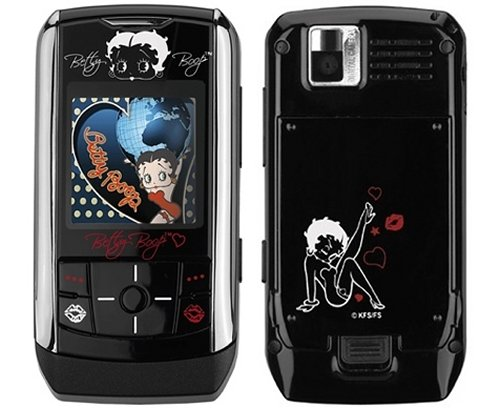 Betty Boop phone from Samsung