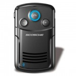 solChat solar powered bluetooth speaker phone