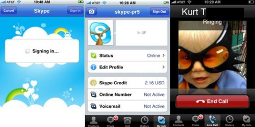 Skype coming to iPhone Tuesday, BlackBerry in May