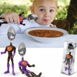 SOUPER spoon is all kinds of Superhero fun, with soup