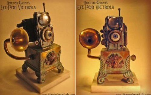 The Steampunk eye-Pod