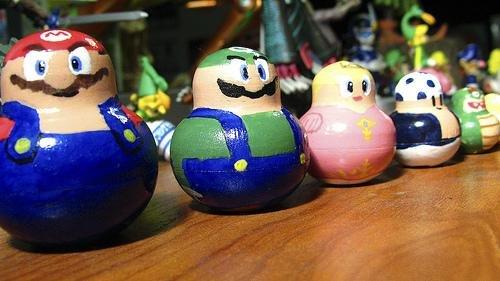 Super Mario Bros Matryoshka dolls
