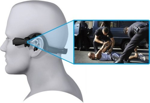 Tasers ear-mounted AXON camera for law enforcement