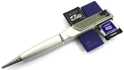 Thanko pen reads 4 SD cards simultaneously