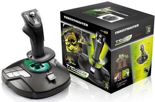 Thrustmaster T.16000M joystick with Tom Clancy's H.A.W.X