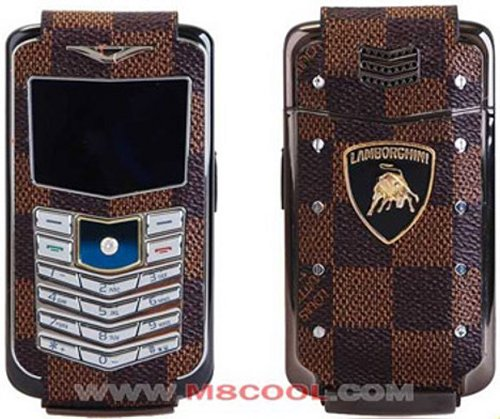 Fake Lamborghini Vertu phone from China