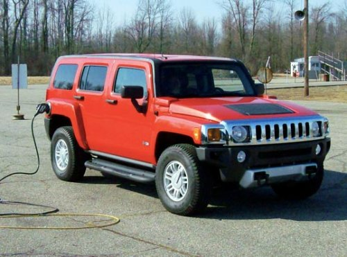 100 MPG Hummer H3