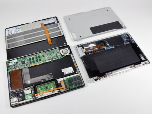 Taking apart the Dell Adamo