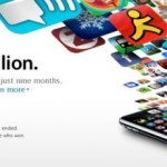 Apple App Store hits a billion downloads