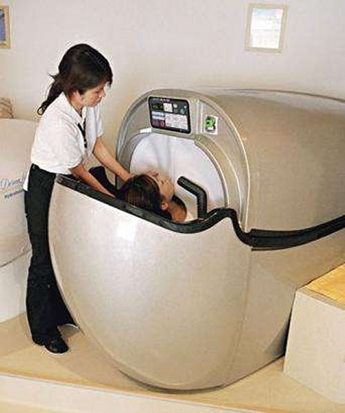 Human Washing Machines for lazy humans
