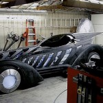 Guy builds working Batman Forever Batmobile in his garage