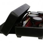 AK Rock Box keeps your Rock Band instruments out of the way