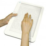 Braille e-book concept