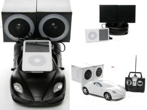 Remote Control car with iPod speakers