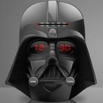 Wake up to Darth Vader's head