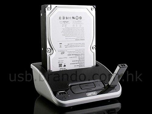 Brando's SATA HDD dock, stereo speaker, USB hub combo