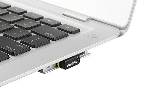 EagleTec Nano 4/8GB flash drive is tiny