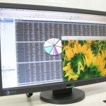 Eizo's FlexScan monitors activate when you are near