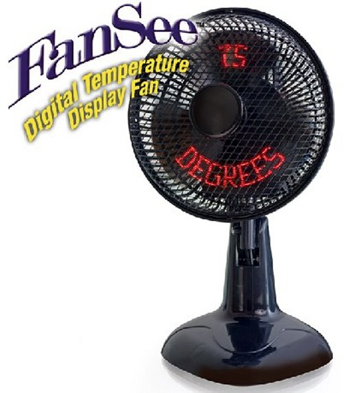 FanSee: A fan that displays the digital temperature