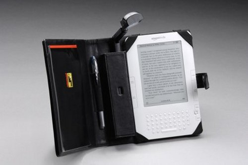 Folio and booklight for Kindle 2