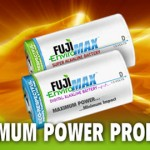 Fuji EnviroMAX eco-respectful batteries available in retail chains