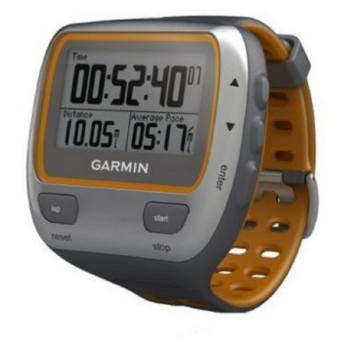 Garmin 405CX and 310XT Forerunner watches with GPS
