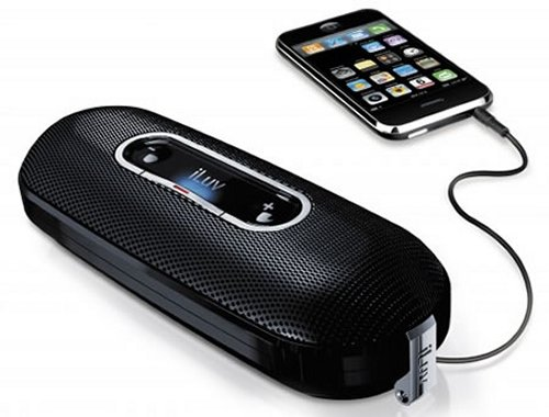 iLuv iSP100 mini portable stereo speaker