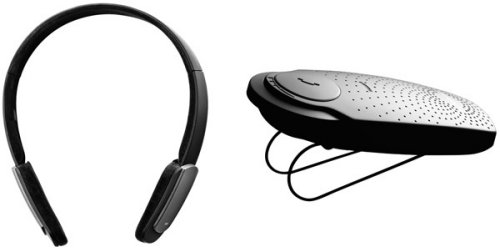 Jabra&#039;s HALO stereo Bluetooth headset and SP200 speakerphone