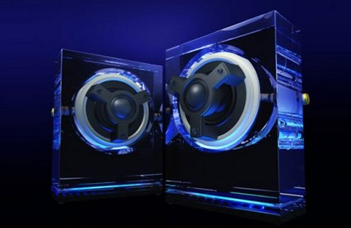 Kenwood SP0001 transparent speakers