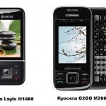 Kyocera launches G2GO M2000 & Laylo M1400 budget phones