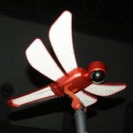 LED Dragonfly streetlamp with a built in camera