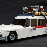 LEGO Ghostbusters Ecto 1 car