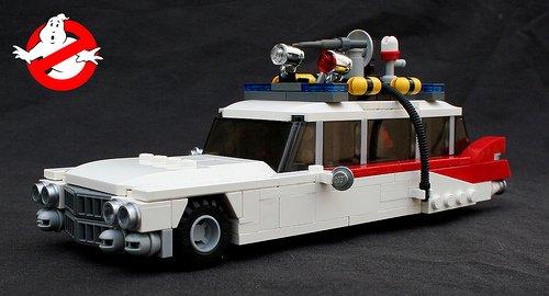 LEGO Ghostbuster's Ecto 1 car