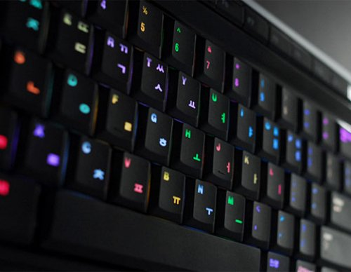 Luxeed u5 color-changing LED keyboard available for pre-order with mac, linux support