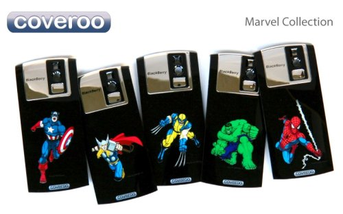 Coveroo color laser engraved backplates featuring Marvel characters