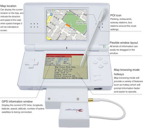 Nintendo DS Lite gets GPS