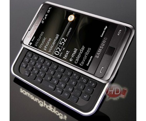 Samsung Omnia Pro with QWERTY keyboard in July?