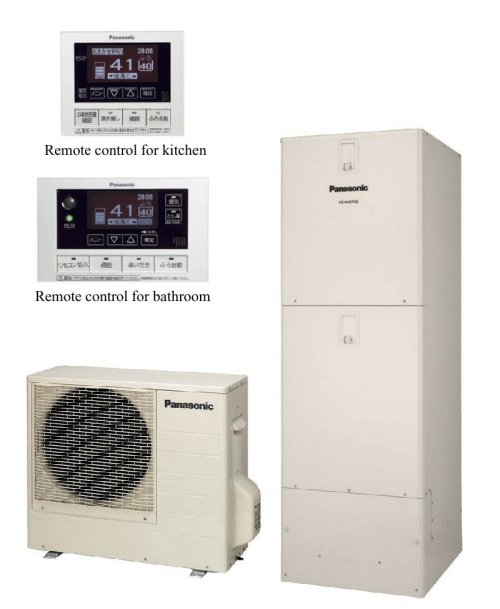 Panasonic announces power saving water heaters