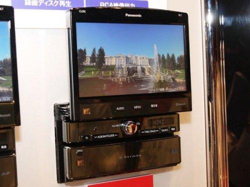 Panasonic's in-dash Blu-ray player