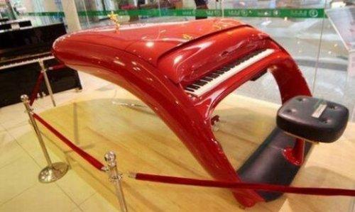 """Schimmel """"Ferrari"""" piano"""