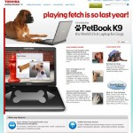 PetBook K9 from Toshiba