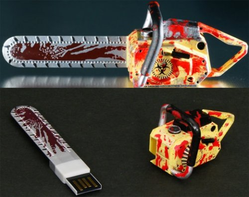 Resident Evil 5 chainsaw USB drive