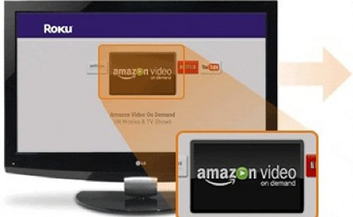 Amazon HD Video On Demand on Roku