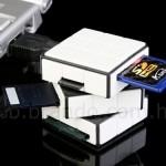 Rubiks Cube card reader