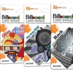SanDisk releases a quartet of slotRadio cards with 1,000 tracks each