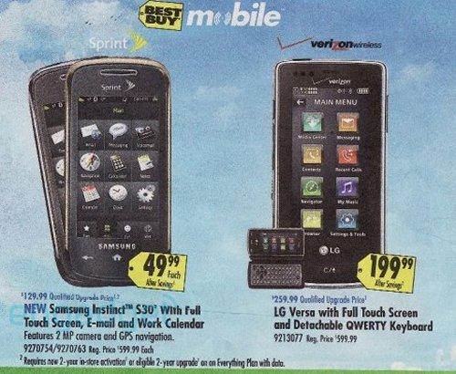 Samsung Instinct S30 heading to Best Buy for $49.99