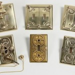 Steampunk light switch plates
