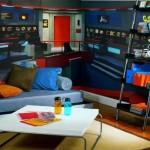 Star Trek wall mural turns your room into the bridge of the Enterprise