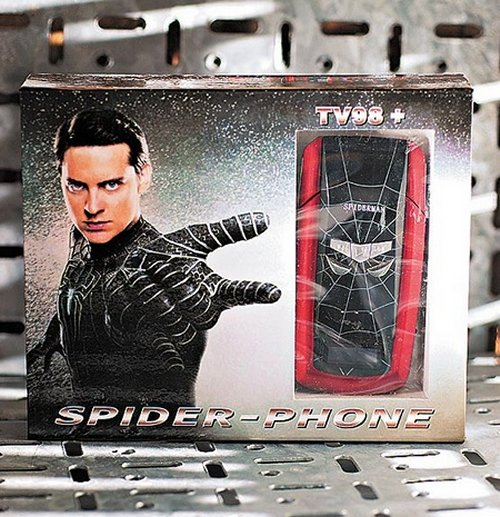 The TV98+ Spider-Phone from China